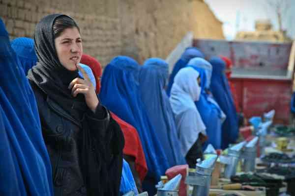 Le donne in Afghanistan